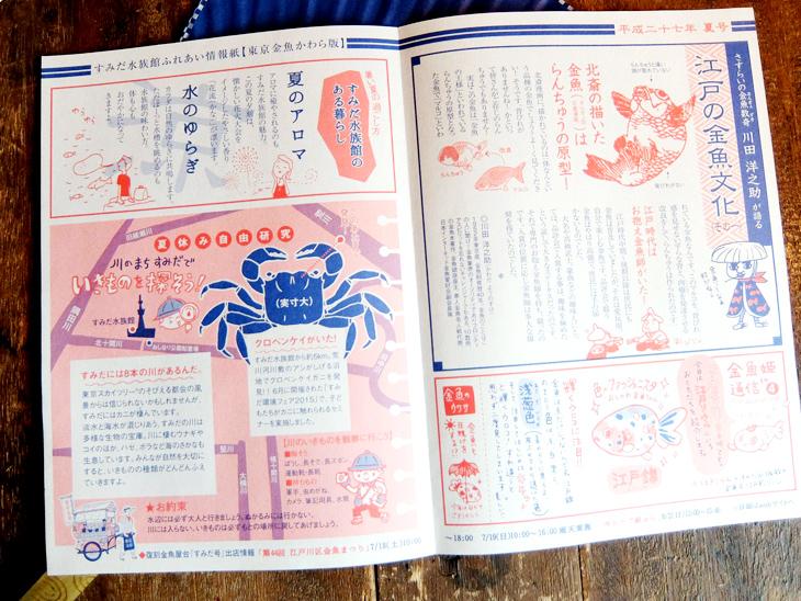 東京金魚かわら版:夏号